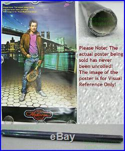 NITF! Old Stock NIKE Poster John McEnroe Brooklyn Bridge WTC Twin Towers