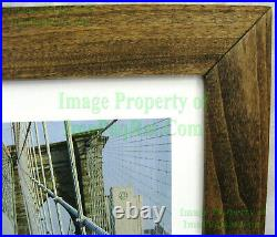 NITF! Vintage FRAMED NIKE Running Poster WTC Equinox Brookly Bridge NYC