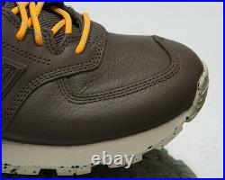 New Balance 574 Men's Brown Casual Athletic Lifestyle Sneakers Shoes