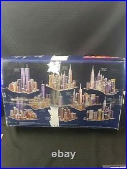 New York New York Puzz 3D Wrebbit Puzzle Kit 3141 Pieces World Trade Center