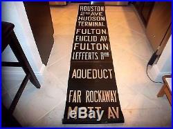 Nyc Subway Sign World Trade Center Rockaway Ny Roll Sign Hudson Terminal Fulton