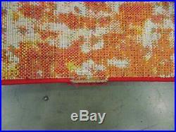 ORANGE / GREEN 8' x 10' Damaged Binding Rug, Reduced price 1172558974 WTC695D-8