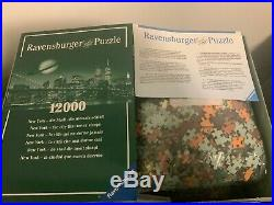 Opened Ravensburger New York 12000 Pcs Puzzle WTC World Trade Center Twin Towers