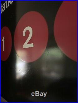 Original NYC Chambers Street Subway Sign! Authentic, World Trade Center New York
