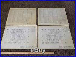 Original World Trade Center Blueprint Collection (Twin Towers, 9/11)