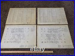 Original World Trade Center Blueprint Collection (Twin Towers, 9/11)