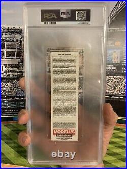 PSA Ticket Baseball 2001 New York Yankees Vs Sox 9/11 World Trade Center