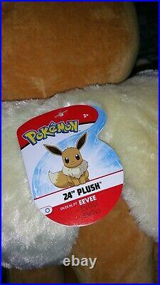 Pokemon Eevee 24 Giant Plush Brand New Licensed WTC Soft