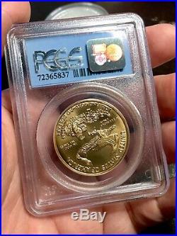 RARE 1998 $50 1oz American Gold Eagle WTC Ground Zero Recovery PCGS MS69
