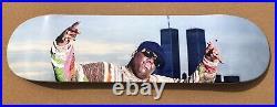 RARE Notorious BIG Skateboard Primitive Deck Biggie World Trade Center NYC Obey