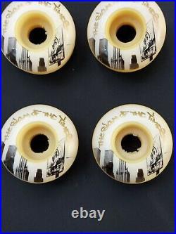 RARE Zoo York Skateboard Wheels World Trade Center 2000 52 mm