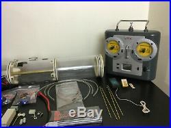 RC 3.5 SubDriver (WTC), ESC, 75 mhz Radio, Receiver, battery, servos, Skipjack