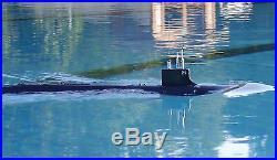 RC Sub 1/144 USS SSN21 SeaWolf Attack Submarine Model Kit + WTC is RTR + Radio