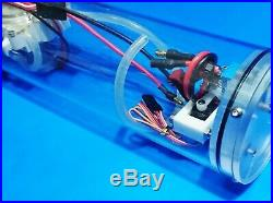 RC Sub Revell 1/72 USS Gato Submarine WTC only (including propeller and shaft)