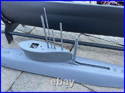 RTR Fully Custom Scratch Built Type XXVI RC WTC Submarine