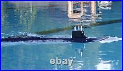 RTR RC Sub 1144 USS SSN21 Seawolf Submarine Model Kit + WTC + Radio + Painting