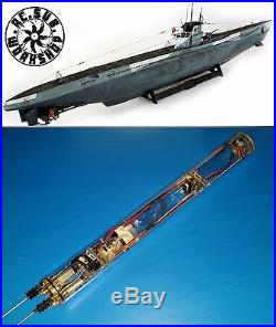 RTR WTC Fro 1/72 REVELL U-boat VIIC use (Include Prop+Shaft+ Rudder) WTC only