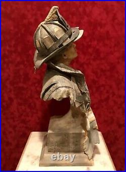 Rare 9/11 World Trade Center FIREMAN Sculpture CALL OF DUTY by Stephen Herrero