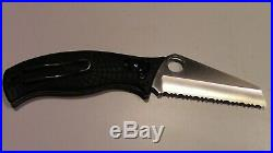 Rare Spyderco Wtc World Trade Center Knife #0341 With 2 Presentation Boxes