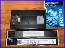 Rare VHS Recording 9/11 World Trade Center Attacks Disaster 1st/2nd Towers Ch. 2