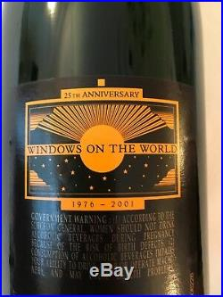 Rare! Windows On The World Trade Center 25th Anniversary Veuve Clicquot Champ