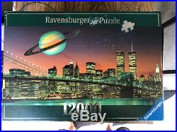 Ravensburger 12000 Pcs Puzzle WTC World Trade Center Twin Towers, NYC Skyline