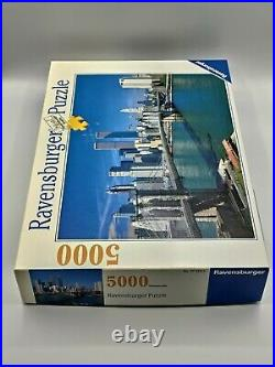 Ravensburger New York City 5000 Pieces Twin Towers World Trade Center N/Sealed