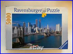 Ravensburger Puzzle 5000 New York World Trade Center / Twin Towers