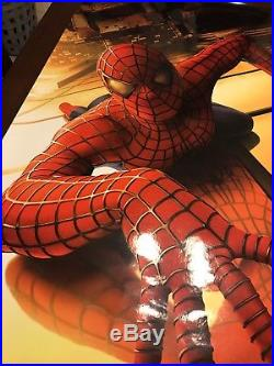 SPIDERMAN RECALLED ORIGINAL DS MOVIE POSTER 3 MAY 2002 WTC + Replacement