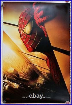 SPIDER-MAN 2002 Orginal Adv WTC Movie Poster Sam Raimi Printer's Proof Spiderman