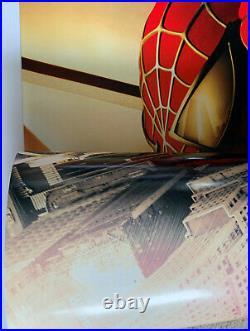 SPIDER-MAN 2002 Orginal Recalled Adv D/S WTC Movie Poster Sam Raimi Spiderman