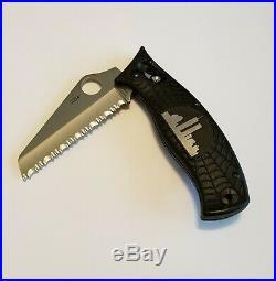 SPYDERCO Limited Edition WTC Knife #2334 CPMS30V Very Rare