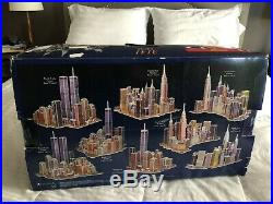 Sealed PUZZ 3D New York Wrebbit Twin Towers World Trade Center 3141 Pieces