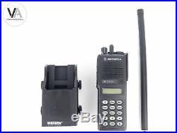 Set Motorola 4m BOS Funkgerät MTS 2013 + Wetech WTC605D Kfz-Ladehalterung