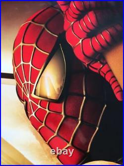 Spider-Man Recalled WTC Twin Towers Orig. D/S 1-Sheet movie poster COMING 2002