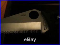 Spyderco 9/11 World Trade Center Commemerative Knife withBox Excellent NR