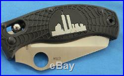 Spyderco World Trade Center Limited Edition Knife with Wood Box