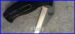 Spyderco World Trade Center WTC 9/11 Limited Edition D'Allara Rescue Knife RARE
