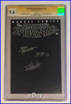 Stan Lee Signed Amazing Spider-man #36 Cgc Ss 9.6 Romita Jr & Sr 9/11 Wtc