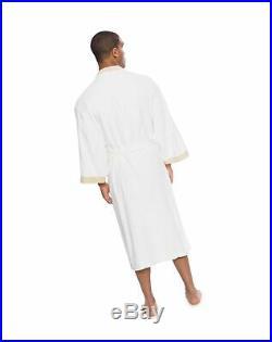 Texere Men's Terry Cloth Bath Robe Comfortable Spa Gift for Him (Turilano)