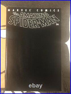 The Amazing Spider-Man #36 9/11 WTC NM+ Black Tribute Cover