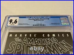 The Amazing Spider-Man Volume 2 #36 CGC 9.6 9/11 World Trade Center