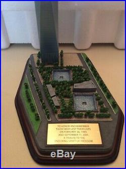 The Danbury Mint One World Trade Center Commemorative Statue