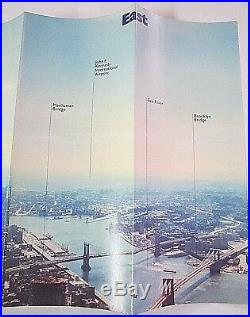 The World Trade Center Vintage Brochure around the early 1980's, New York City