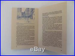Twin Towers World Trade Center Brochure New York Pre Opening 70s HTF RARE