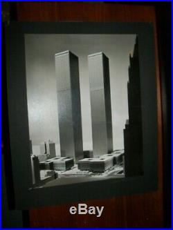 Twin Towers World Trade Center WTC by Balthazar Korab Signed- Excellent Cond