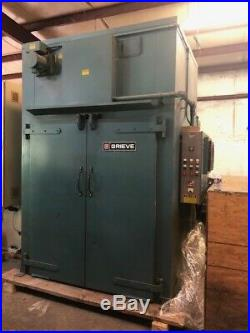 USED GRIEVE WTC566-500 WALK-IN OVEN with Combination Air Flow Top Heat Chamber
