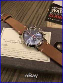 Undone Watches Urban Classic Chronograph Watches. Com Exclusive Sunray Blue