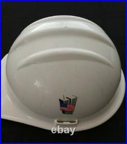 Very Rare 9/11 World Trade Center Port Authority of NY & NJ Helmet Ground Zero