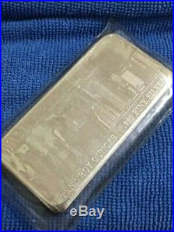Vintage 10 oz. 999 Silver Bar Wall Street Mint Twin Towers World Trade Center